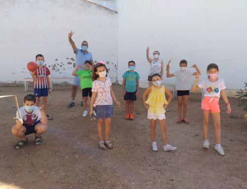 Los más pequeños disfrutaron en Campanario y La Guarda de multitud de juegos populares