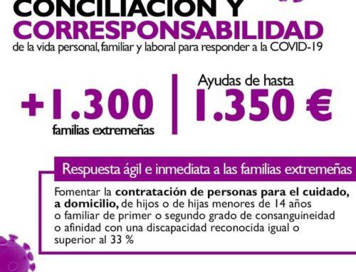 Ayudas a la contratación para la conciliación de la vida personal, familiar y laboral