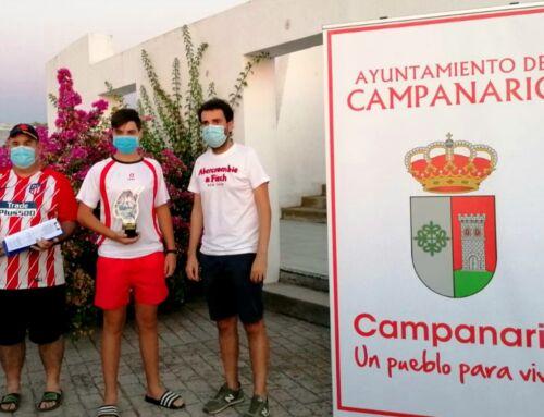 Juan Franco Díaz se proclamó ganador del concurso de pesca infantil de Campanario