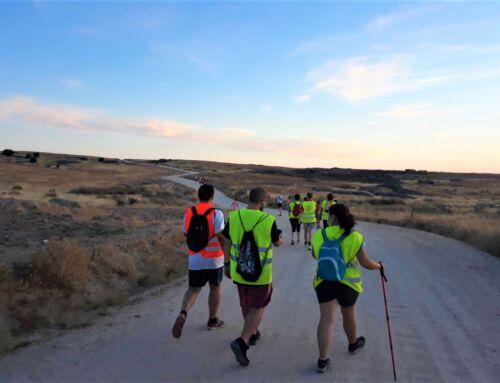 Culminada con éxito la ruta nocturna senderista a La Guarda