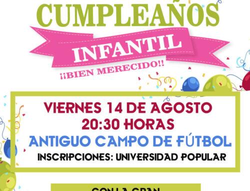 El Ayuntamiento organiza un super cumpleaños para los más pequeños