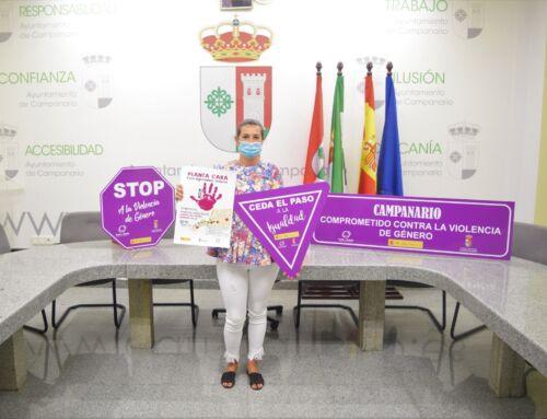El Ayuntamiento de Campanario inicia una campaña contra la violencia de género