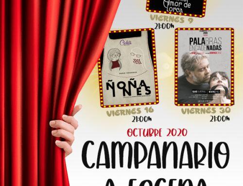 El Teatro Olimpia reabre sus puertas con tres obras de teatro en octubre