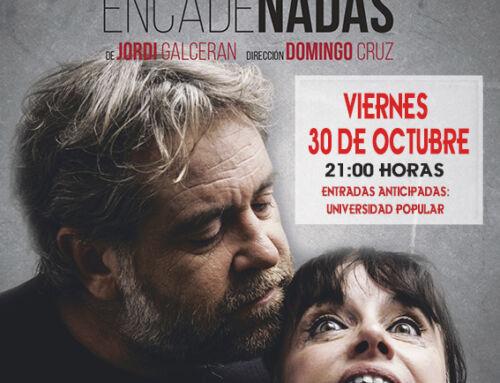 El Teatro Olimpia ofrece este viernes la obra 'Palabras encadenadas'