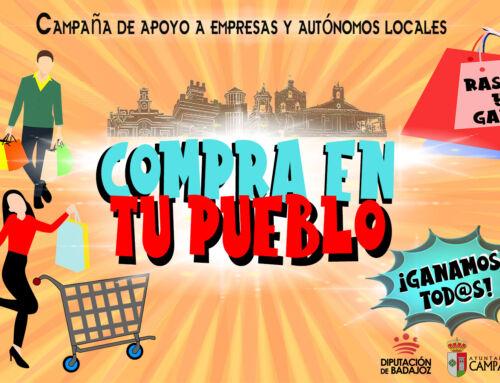 Todas las empresas de Campanario podrán participar en la VIII Campaña 'Compra en tu pueblo'