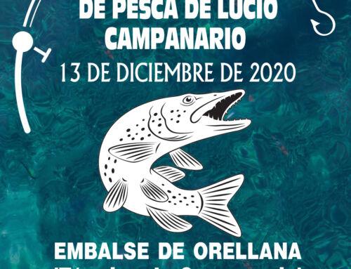 El concurso de pesca de lucio de Campanario tendrá lugar el 13 de diciembre