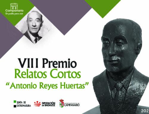 VIII Premio 'Antonio Reyes Huertas': abierto el plazo para presentar relatos cortos