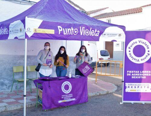 El Ayuntamiento instala un Punto Violeta en Campanario contra las agresiones sexista