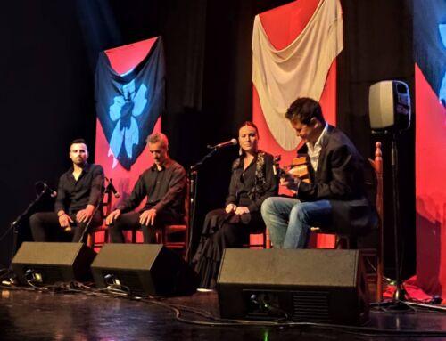 Campanario rindió homenaje al flamenco con la actuación de Celia Romero