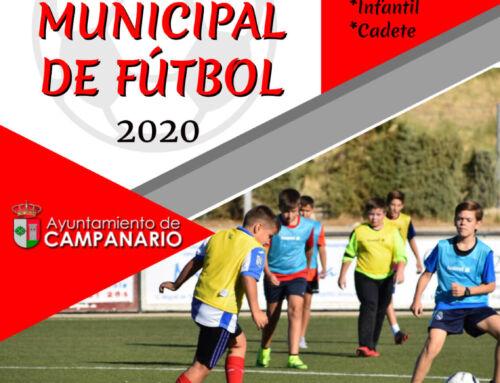 Escuela de Fútbol Municipal: abierto el plazo de inscripción