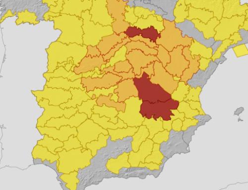 Alerta amarilla por bajas temperaturas en la provincia de Badajoz