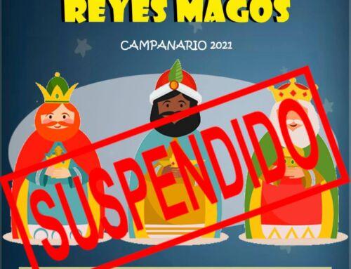 Suspendida la visita de los Reyes Magos por el aumento de casos de COVID-19 en la localidad
