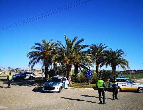 Controles de Policía Local y Guardia Civil para evitar desplazamientos no justificados a otras localidades