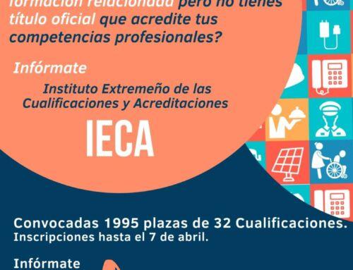 Abierto el plazo para la evaluación y acreditación de competencias profesionales