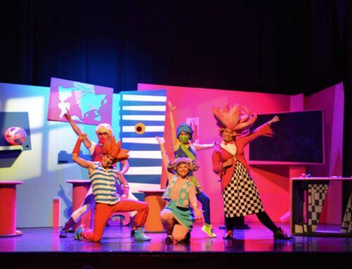 """Campanario conmemoró el Día mundial del teatro con la obra infantil """"Trasto, Truka y la profesora Trova"""""""
