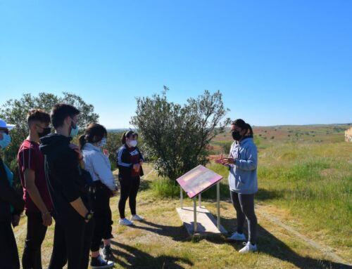 Alumnos del I.E.S Bartolomé José Gallardo visitan el yacimiento arqueológico de La Mata