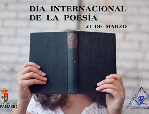 El Ayuntamiento de Campanario conmemora el Día Mundial de la Poesía