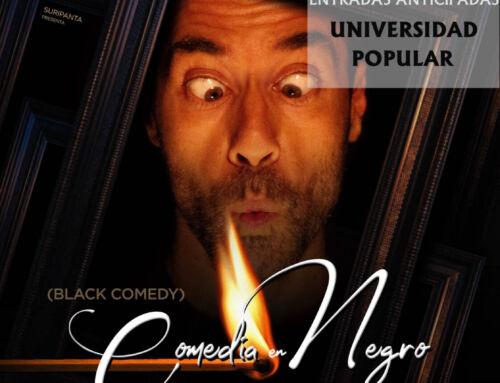 "La desternillante ""Comedia en Negro"" de Peter Shaffer llega a Campanario tras cosechar éxitos por toda España"