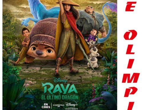 """""""Raya y el último dragón"""" emocionó a mayores y pequeños en el cine Olimpia"""