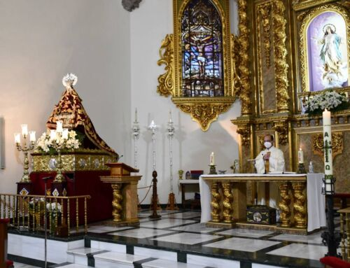 La Virgen de Piedraescrita ya está en Campanario