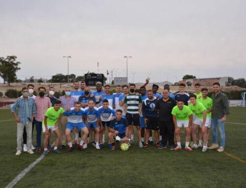 El Ayuntamiento muestra su apoyo al CF Campanario para conseguir la permanencia en Tercera División