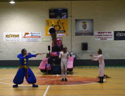 """""""Tanque Gurugú"""", todo un éxito entre los niños y niñas de Campanario"""