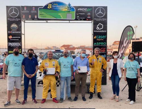 Santiago Barragán y Javier Tolosa ganadores del VIII Rally Interprovincial de Campanario