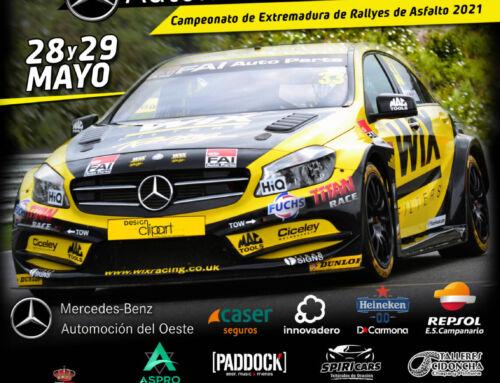 El VIII Rally de Campanario contará con 48 pilotos participantes