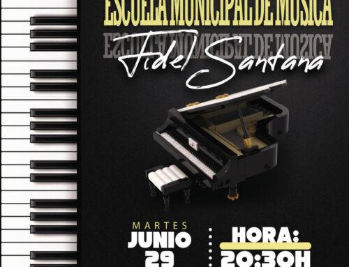 """Clausura del curso de la Escuela Municipal de Música """"Fidel Santana"""""""