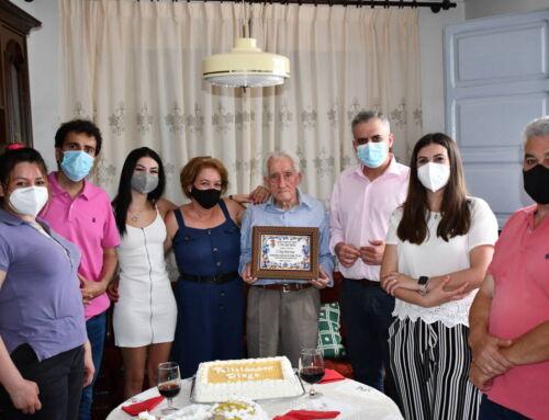 El vecino campanariense Diego Mora Ayuso cumple 100 años