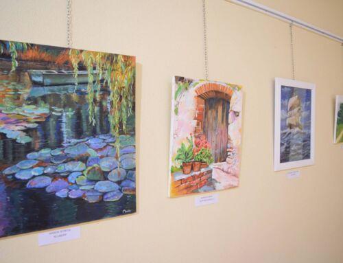 La Universidad Popular expone los trabajos de los alumnos y alumnas del curso de pintura