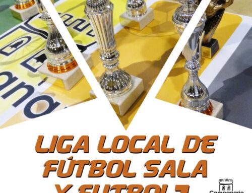 Vuelven las Ligas Municipales de Fútbol Sala y Fútbol 7: abierto el plazo de inscripción