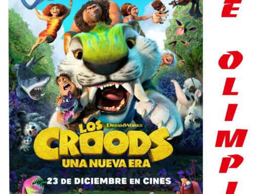 """El Cine Olimpia proyecta Los Croods """"Una nueva era"""" para toda la familia"""