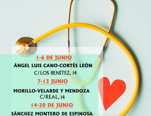 Farmacias de guardia en Campanario para el mes de junio de 2021