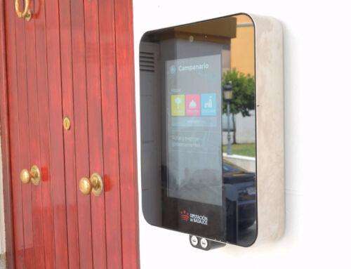 Instalado un terminal de información turística en el Ayuntamiento de Campanario