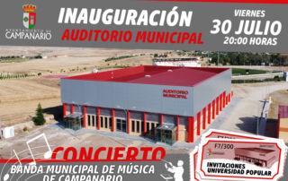 Inauguración Caseta Municipal - Julio 2021.
