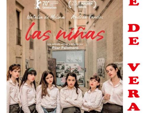 """'Las niñas' será la cuarta y última película incluida en el circuito """"Cine de Verano 2021"""" de AUPEXque se proyectará en Campanario"""