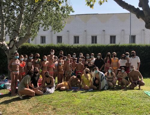 Los integrantes de la Banda Municipal de Música disfrutaron de un día en la piscina por cortesía del Ayuntamiento