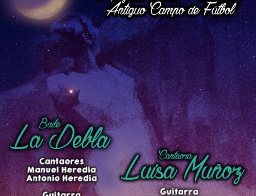 Luisa Muñoz y Claudia «La Debla» protagonizan la LVIII Noche Flamenca de Campanario
