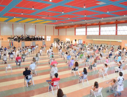 La reforma del Auditorio Municipal fue inaugurada con un concierto de la Banda Municipal de Música