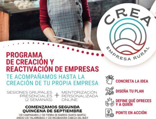 CREA empresa rural – Programa de creación y reactivación de empresas