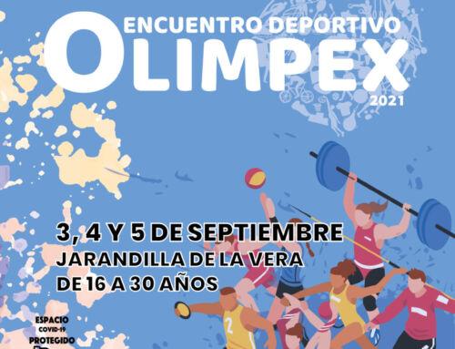 OLIMPEX – Encuentro deportivo para jóvenes de 16 a 30 años