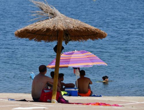 Ayer, 8 de septiembre, finalizaba la temporada de baño en la Playa de Campanario