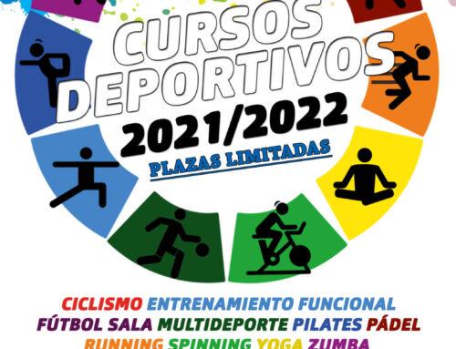 El Ayuntamiento abre las inscripciones para los Cursos Deportivos 2021/2022