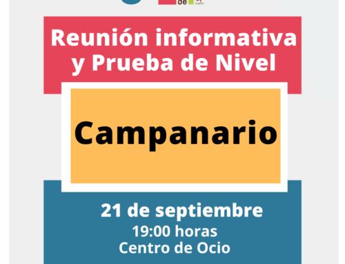 Reunión informativa del Centro Local de Idiomas de Campanario