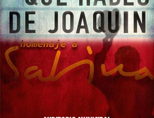 El Auditorio Municipal acoge esta noche el concierto-tributo a Joaquín Sabina «Pongamos que hablo de Joaquín»