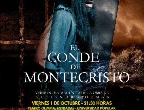 'El conde de Montecristo' levantará el telón del Teatro Olimpia el 1 de octubre