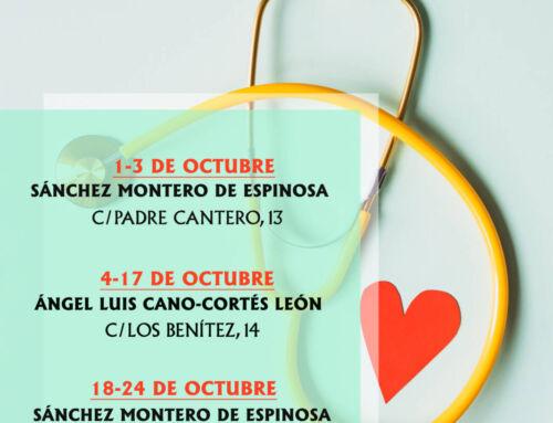 Farmacias de guardia en Campanario para el mes de octubre de 2021