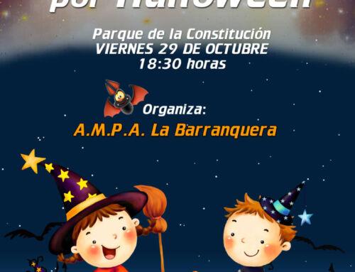 El A.M.P.A La Barranquera organiza un desfile infantil por Halloween