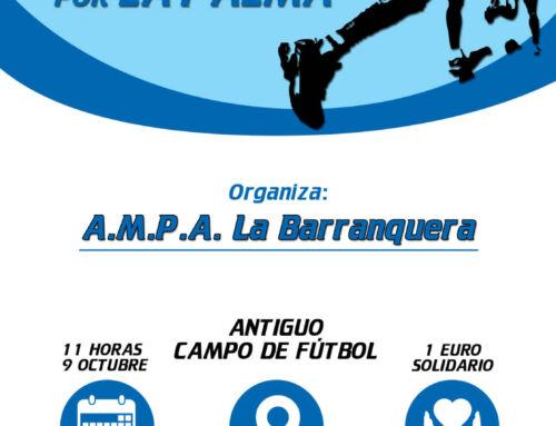 El A.M.P.A. La Barranquera organiza una carrera en favor de los afectados por el volcán de La Palma
